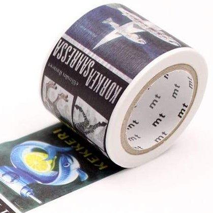 MT masking tape ex  Eric Bruun Poster