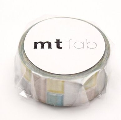 MT washi tape fab pearl Tile pastel