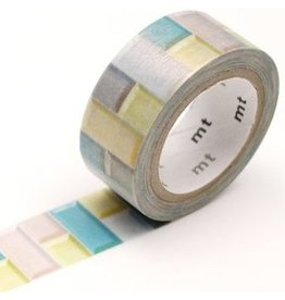 MT  MT washi tape fab pearl Tile pastel