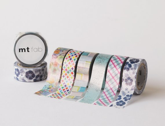MT washi tape fab pearl Quilling flowers