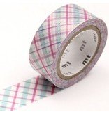 MT masking tape fab pearl Check purple