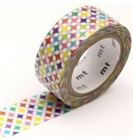 MT  MT washi tape fab pearl Sparkling circle