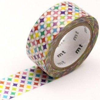 MT washi tape fab pearl Sparkling circle