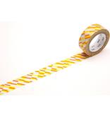 MT masking tape block stripe orange