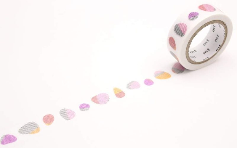 MT washi tape stone red