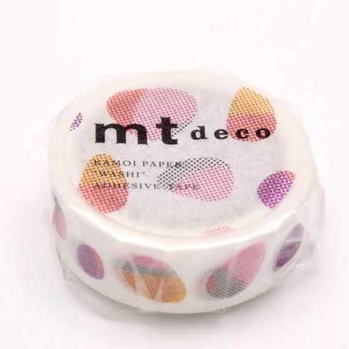 MT masking tape stone red