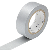 MT washi tape silver