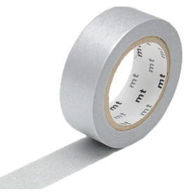 MT  MT washi tape zilver