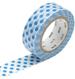 MT  MT masking tape dot blue