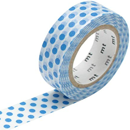MT masking tape dot blue