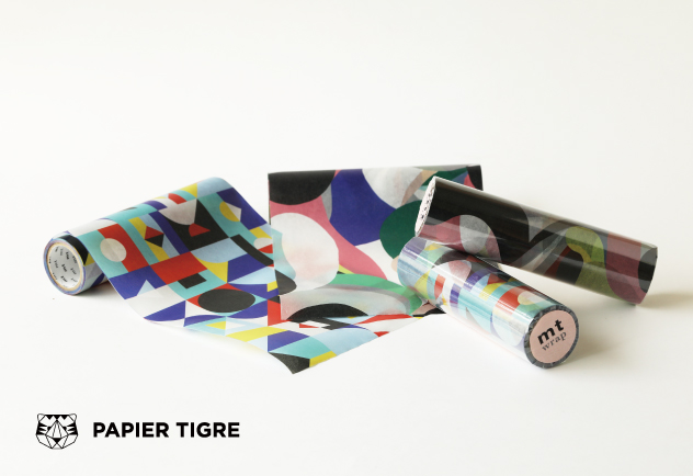 MT wrap Papier tigre l'Aquarius