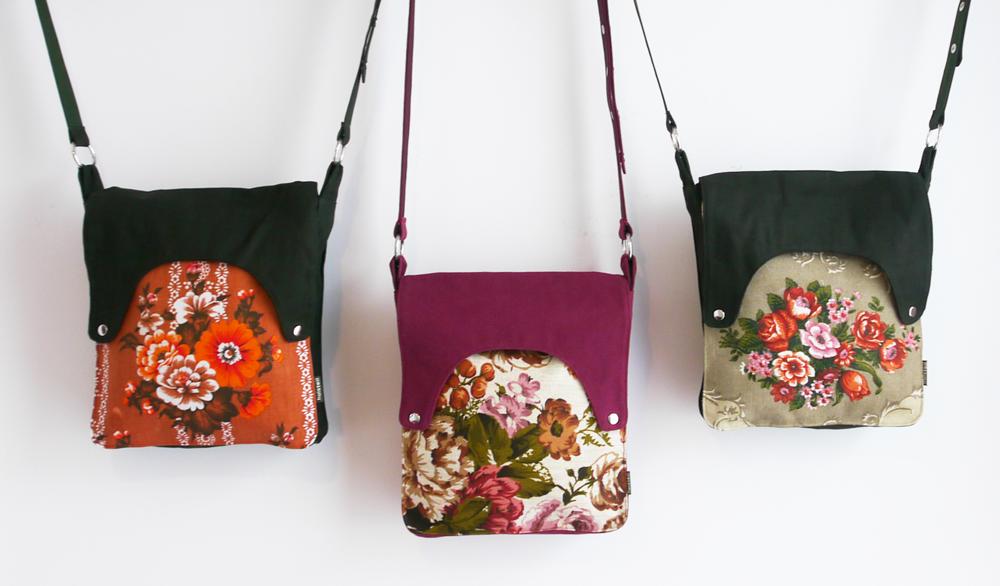 Happy tas XL Huisteil Bouquet de fleurs