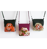 Happy tas XL Huisteil English flowers