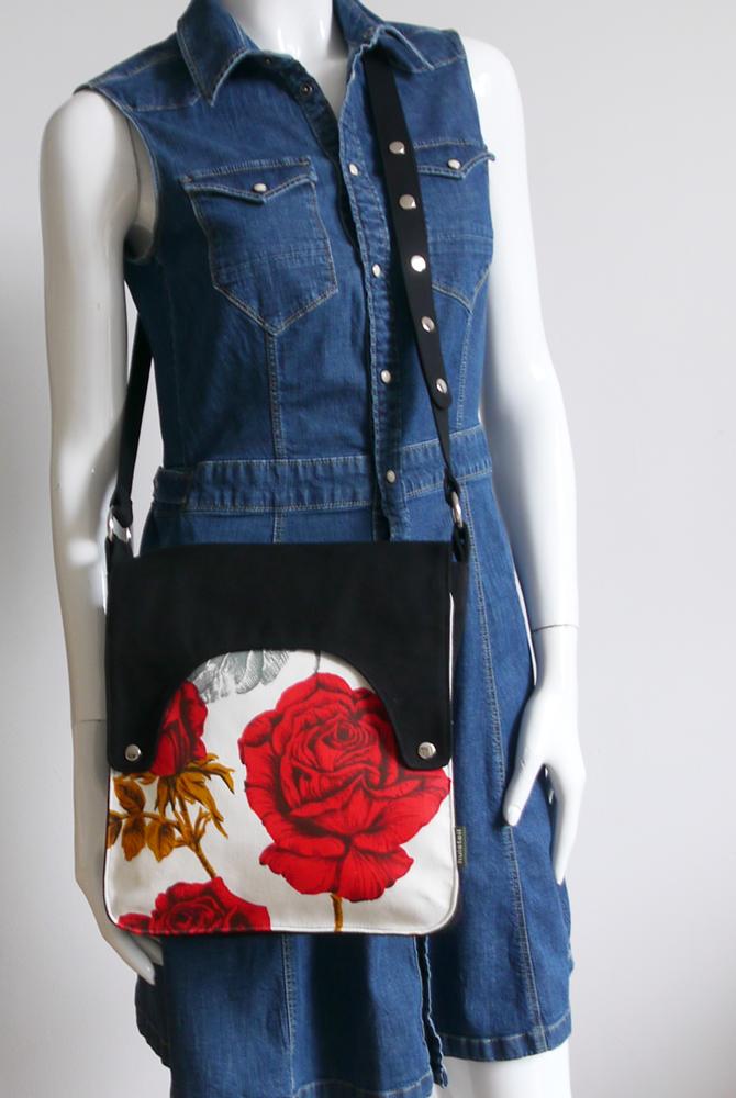Happy tas XL Huisteil Red Rose