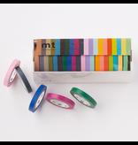 MT washi tape 20 pack slim