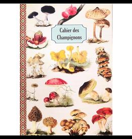 Gwenaëlle Trolez Créations Geïllustreerd notebook Cahier des Champignons
