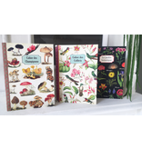 Geïllustreerd notebook Le jardin botanique