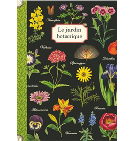 Gwenaëlle Trolez Créations Geïllustreerd notebook Le jardin botanique