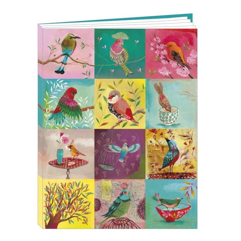 Notebook Les Oiseaux