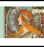 Geïllustreerd notebook Art Nouveau