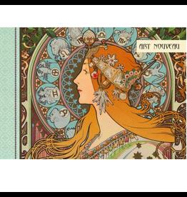 Gwenaëlle Trolez Créations Geïllustreerd notebook Art Nouveau