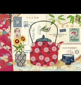 Gwenaëlle Trolez Créations Geïllustreerd notebook Kimono