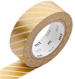 MT  MT masking tape stripe gold
