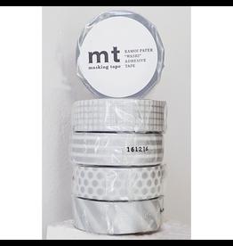 MT  MT masking tape set zilver
