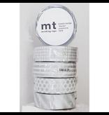 MT washi dot silver