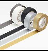 MT washi tape border silver 2