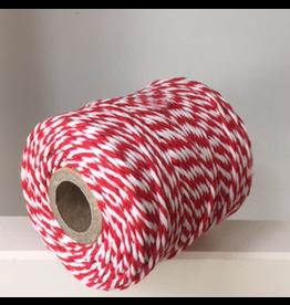 Zilte atelier Twine rood & wit