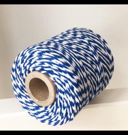 Zilte atelier Twine blauw & wit