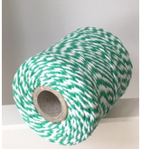 Twine groen & wit