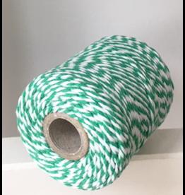 Zilte atelier Twine groen & wit
