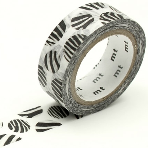 MT washi tape ex Dot zebra