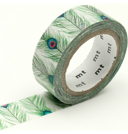 MT  MT washi tape ex Peacock feathers