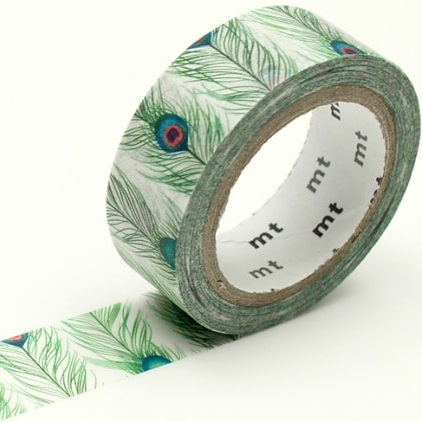 MT masking tape ex Peacock feathers