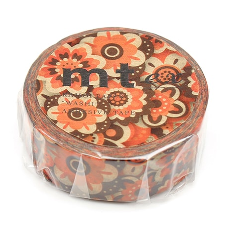MT washi tape ex Layered of flower
