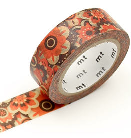 MT washi tape ex Layered of flower