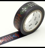 MT washi tape Petal flame