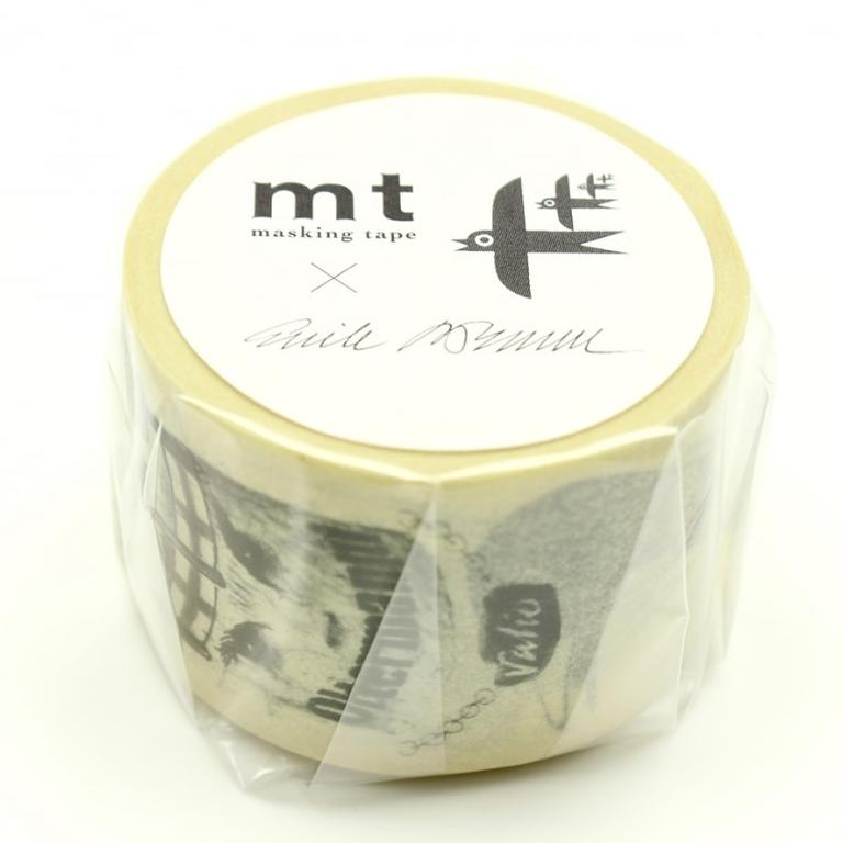 MT masking tape ex  Erik Bruun Sketch