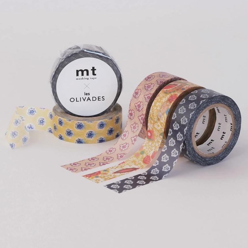 MT washi tape Les Olivades Poum