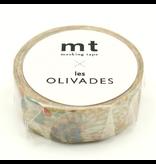 MT washi tape Les Olivades Charbonnier