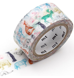 MT  MT washi tape Christmas Winter animals