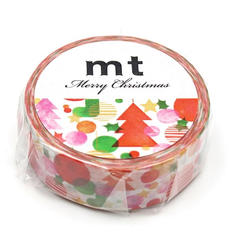 MT washi tape Watercolor Christmas