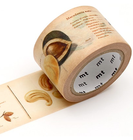 MT  MT washi tape ex encyclopedia nuts