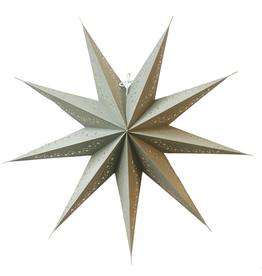 Kerstster Star Gray