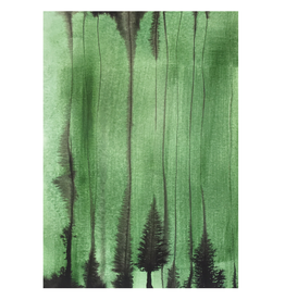 Tessa M. de Graaf Kaart Green Forest