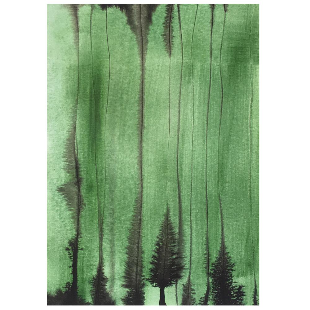 Kaart Green Forest