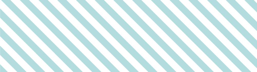 MT casa Stripe mint blue 50 mm